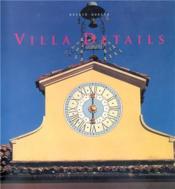 Villa Details /Anglais - Couverture - Format classique