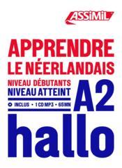 Apprendre le néerlandais ; débutants A2 - Couverture - Format classique