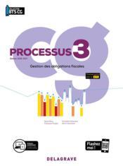 Processus 3 - gestion des obligations fiscales ; BTS comptabilité gestion ; pochette élève (édition 2020) - Couverture - Format classique