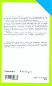 Metier d'etudiant (le) - 4ème de couverture - Format classique
