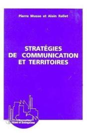Strategies De Communication Et Territoires - Couverture - Format classique