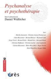 Psychanalyse et psychothérapie - Couverture - Format classique