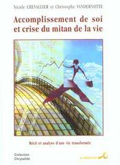 Accomplissement de soi et crise du mitan de la vie - Intérieur - Format classique