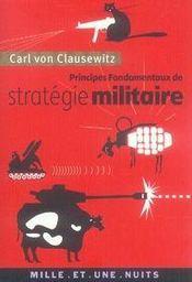 Principes fondamentaux de stratégie militaire - Intérieur - Format classique