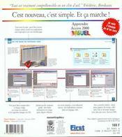 Apprendre Access 2000 - 4ème de couverture - Format classique