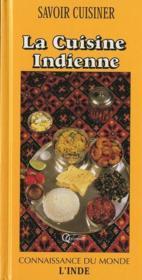 La cuisine indienne - Couverture - Format classique