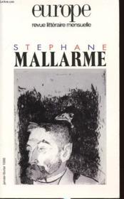 Europe Stephane Mallarme 825/826 - Couverture - Format classique