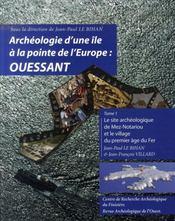Archéologie d'une île à la pointe de l'europe : ouessant - Intérieur - Format classique
