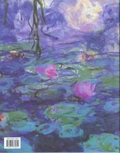 Monet - 4ème de couverture - Format classique