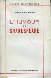 L'humour de Shakespeare - Couverture - Format classique