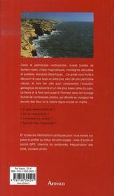 Guide des merveilles de la nature ; maroc - 4ème de couverture - Format classique