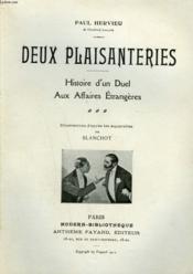Deux Plaisanteries. Histoire D'Un Duel Aux Affaires Etrangeres. Collection Modern Bibliotheque. - Couverture - Format classique