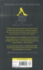 Revenge Wears Prada : the Devil Returns - 4ème de couverture - Format classique