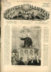 L'UNIVERS ILLUSTRE - QUATORZIEME ANNEE N° 845 M. Thiers, chef du pouvoir exécutif de la république français - Couverture - Format classique