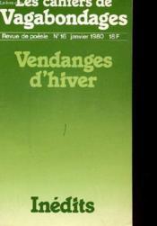 N° 16 - Vendanges D'Hiver - Couverture - Format classique
