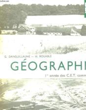 Geographie - Couverture - Format classique