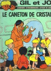 Gil Et Jo - Le Caneton De Cristal - Couverture - Format classique
