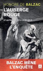 L'auberge rouge et autres récits criminels - Couverture - Format classique