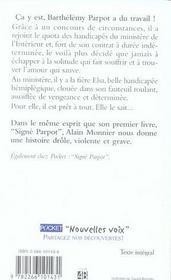 Un amour de parpot - 4ème de couverture - Format classique