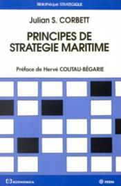Principes De Strategie Maritime - Couverture - Format classique