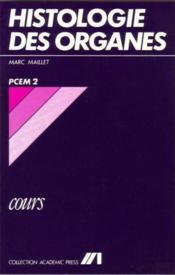 Histologie Des Organes Cours (Pcem) - Couverture - Format classique