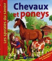 Chevaux Et Poneys (Spirales Du Savoir) - Intérieur - Format classique