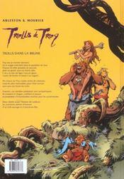 Trolls de Troy T.6 ; Trolls dans la brume - 4ème de couverture - Format classique