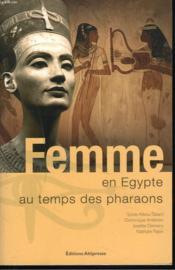 Femme en égypte au temps des pharaons - Couverture - Format classique