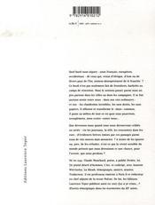 Papiers ! pamphlet-poème - 4ème de couverture - Format classique