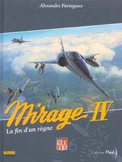 Mirage IV ; la fin d'un règne - Intérieur - Format classique