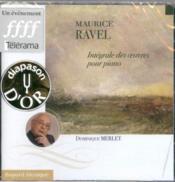 Ravel - integrale des Œuvres pour piano - Couverture - Format classique