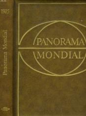 Panorama Mondial, Encyclopedie Permanente. 1975. - Couverture - Format classique