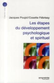 Les etapes du developpement psychologique et spirituel - Couverture - Format classique