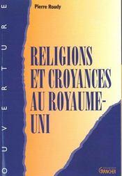 Les religions anglaises - Intérieur - Format classique