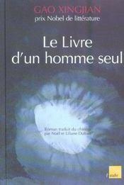 Le Livre D'Un Homme Seul - Intérieur - Format classique
