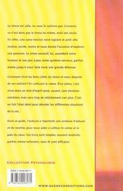 100 Facons De Cultiver Le Calme Et La Serenite - 4ème de couverture - Format classique