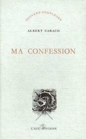 Ma Confession - Couverture - Format classique