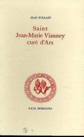 Saint Jm Vianney,Cure D'Ars - Couverture - Format classique