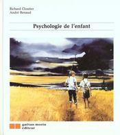Psychologie de l'enfant - Intérieur - Format classique