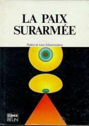 La Paix Surarmee - Couverture - Format classique