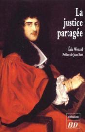 La justice partagee - Couverture - Format classique