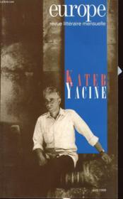 Europe Kateb Yacine N828 - Couverture - Format classique