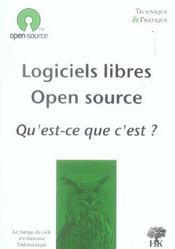 Logiciels libres, open source ; qu'est-ce que c'est ? - Intérieur - Format classique