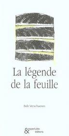 Legende de la feuille (la) - Intérieur - Format classique