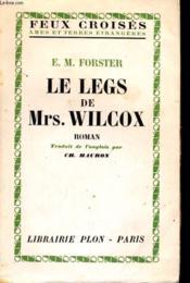 Le Legs De Mrs. Wilcox - Couverture - Format classique