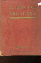 Le Livre Des Vacances - Couverture - Format classique