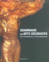 Grammaire des Arts décoratifs de la Renaissance au Post-Modernisme - Intérieur - Format classique