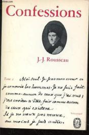 Confessions - Tome 2 - Couverture - Format classique