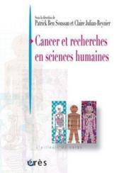 Cancer et recherches en sciences humaines - Couverture - Format classique