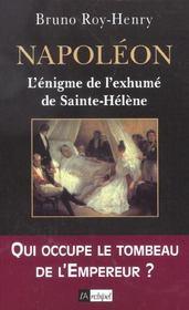 Napoleon, l'enigme de l'exhume de sainte-helene - Intérieur - Format classique